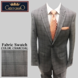 24. CHARCOAL PLAID 2 PIECE 2-BUTTON SUIT Thumbnail