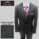 20. GREY TIC WEAVE 2 PIECE 2-BUTTON SUIT Thumbnail