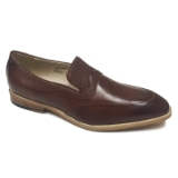 14. COGNAC LOAFER SLIP ON DRESS SHOE Thumbnail