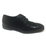 05. BLACK WINGTIP DETAIL LACE UP DRESS SHOE Thumbnail