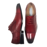 29. ACE RUBY RED CAP TOE LACE UP SHOE Thumbnail
