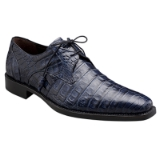 ANDERSON BLUE GENUINE CROCODILE MEZLAN SHOE Thumbnail