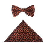 ORANGE BEAN BOW TIE SET Thumbnail
