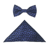 PURPLE BEAN BOW TIE SET Thumbnail