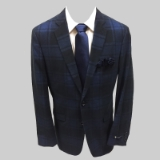 21. BLUE/NAVY PLAID CORDUROY SPORTCOAT Thumbnail