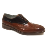 16. CYPRUS TAN/BROWN LACE UP SHOE Thumbnail