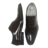03. FERRARA BROWN WING TIP LACE UP SHOE Thumbnail