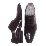 04. FERRARA BURGUNDY WING TIP LACE UP SHOE Thumbnail