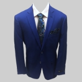 ROYAL BLUE SOLID SPORTCOAT Thumbnail