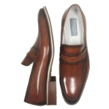 001. HUE TAN SLIP ON LOAFER SHOE Thumbnail