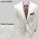 5. WHITE SOLID 100% LINEN SPORTCOAT Thumbnail