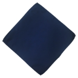P05. NAVY SOLID POCKET SQUARE Thumbnail