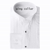 TUXEDO DRESS SHIRT - WING-TIP COLLAR Thumbnail