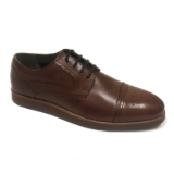 06. BACCO BUCCI WARREN BROWN LACE UP SHOE Thumbnail